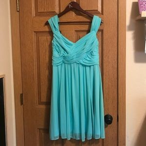 David's Bridal Bridesmaid Dress